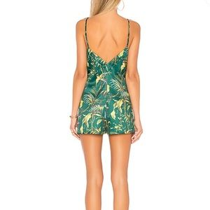 superdown Pants - Superdown revolve tropical silk romper